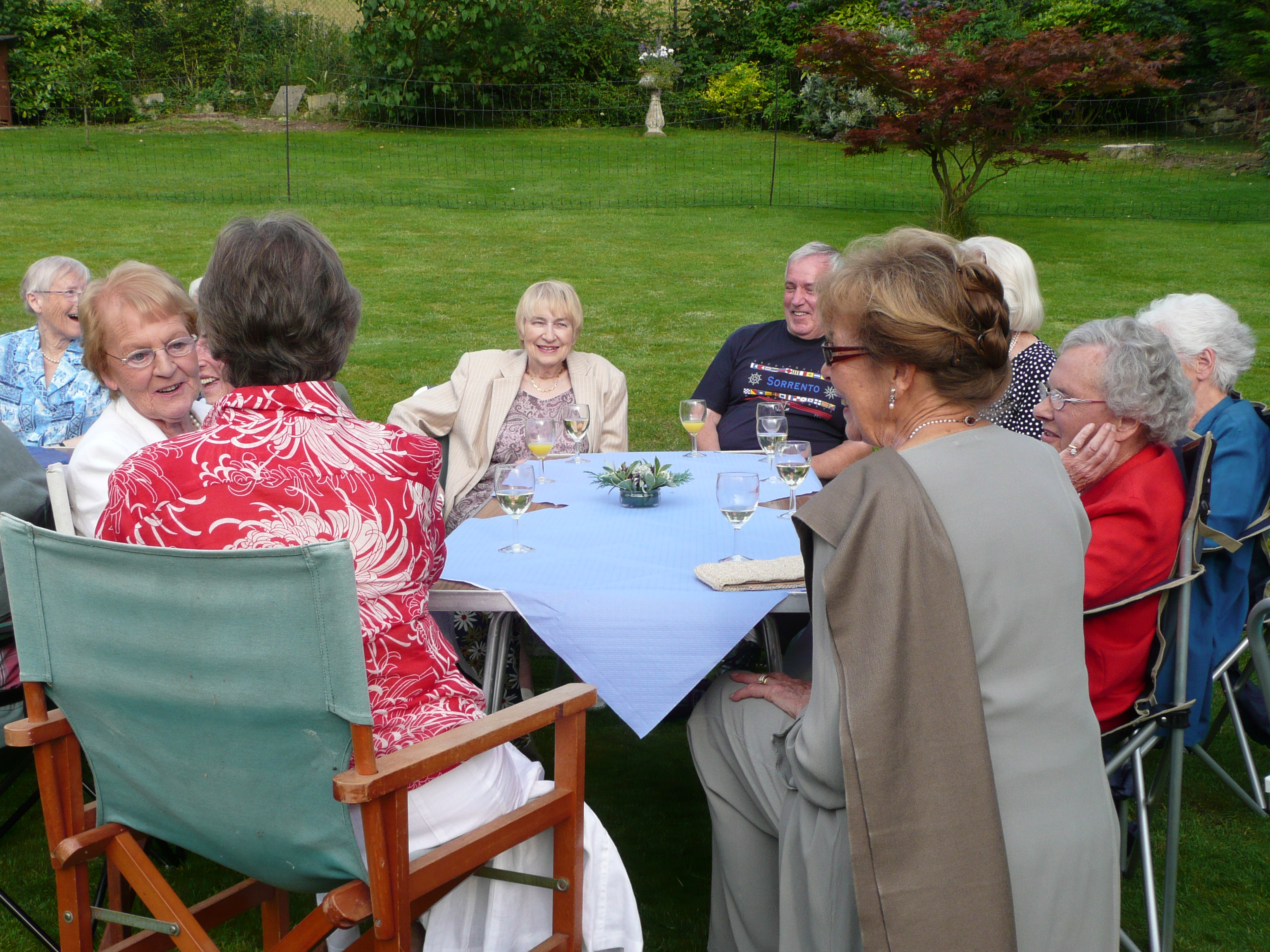 Members from the Friends of Bath