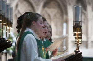Girls Choir singing