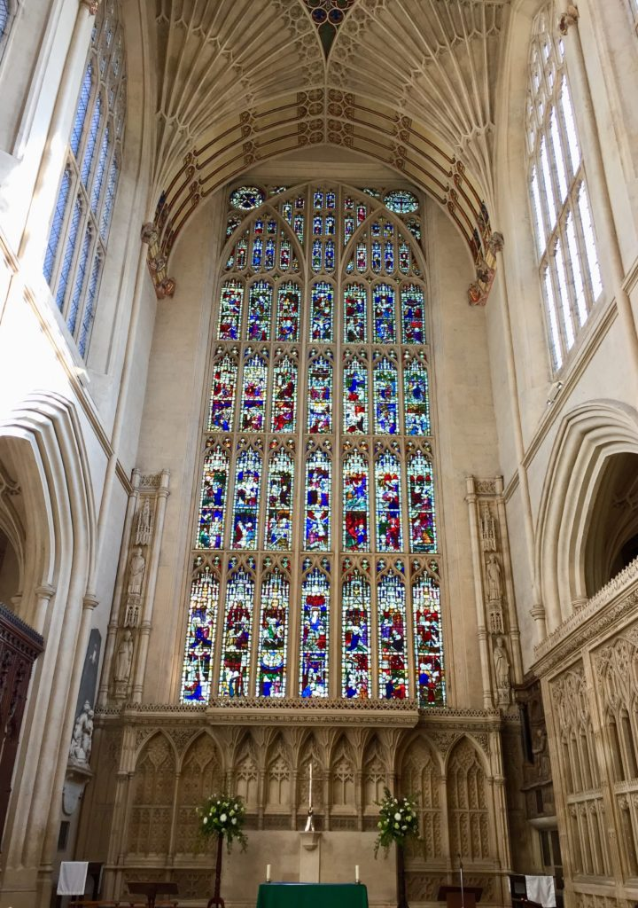 Santuary and east window
