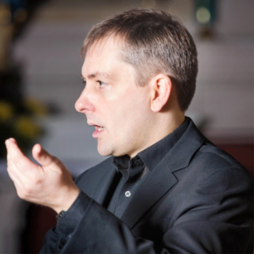 Huw WIlliams, Director of Music at Bath Abbey