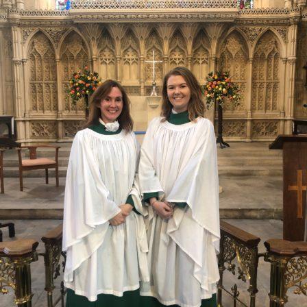 Amy Seyers and Sian Jones, Bath Abbey Choir