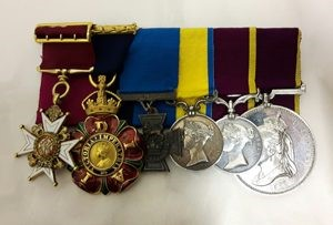 Medals belonging to John Bythesea