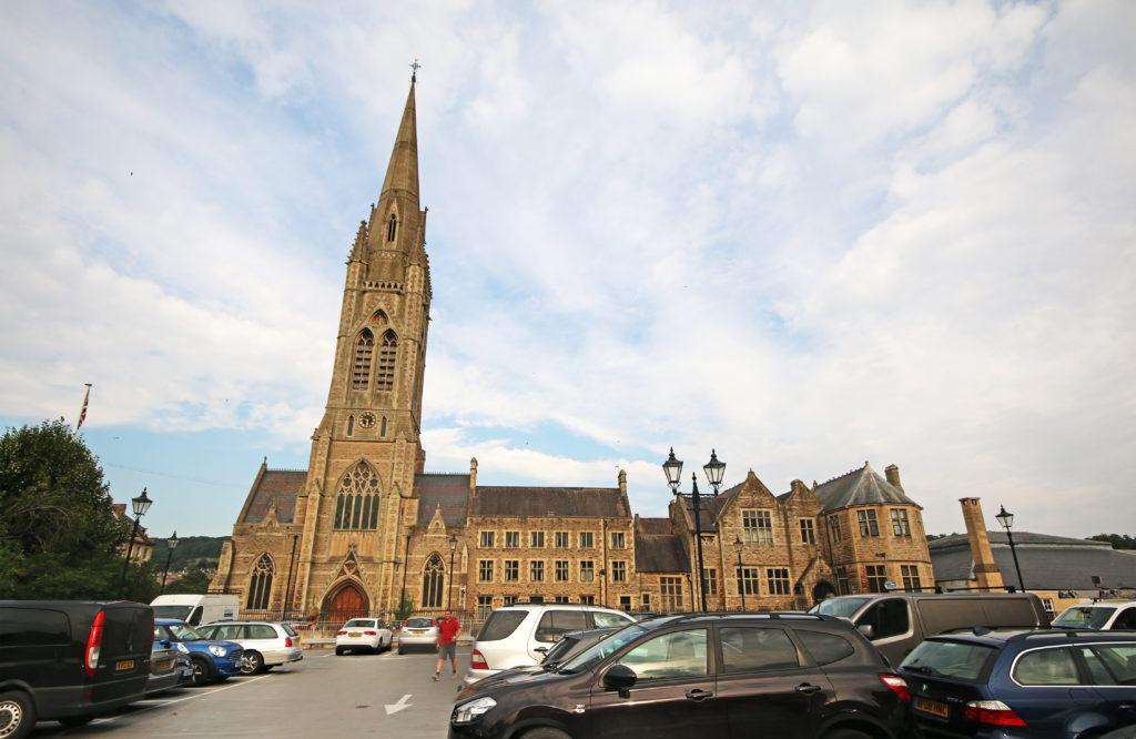 St John the Evangelist RC church in Bath
