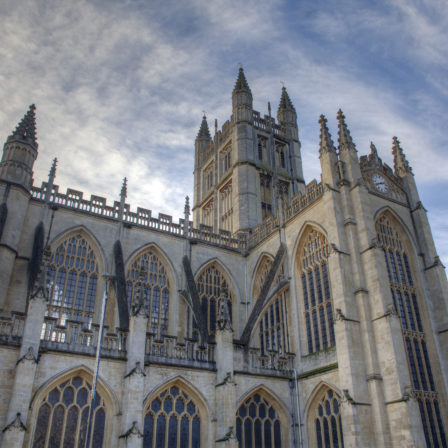 Bath Abbey from the south