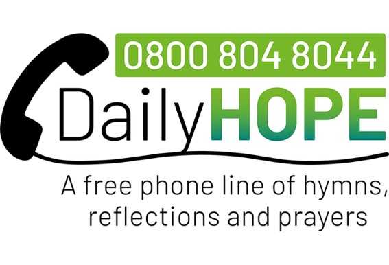 Daily Hope free phone line of hymns, reflections and prayers