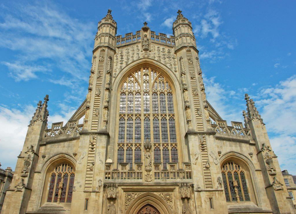 Bath Abbey West Front
