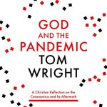 Front cover of book titled God and the Pandemic