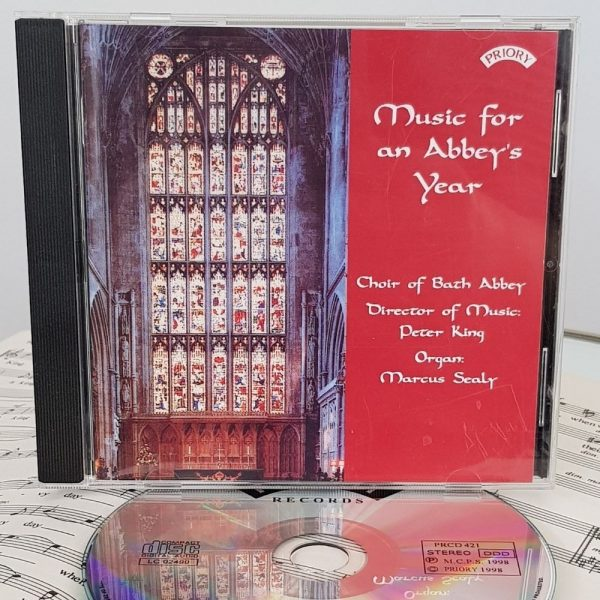 CD Music for an Abbey's Year 1000 x 1000