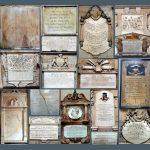 Collage of Bath Abbey wall memorials