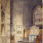 Drawing of War Memorial Chapel