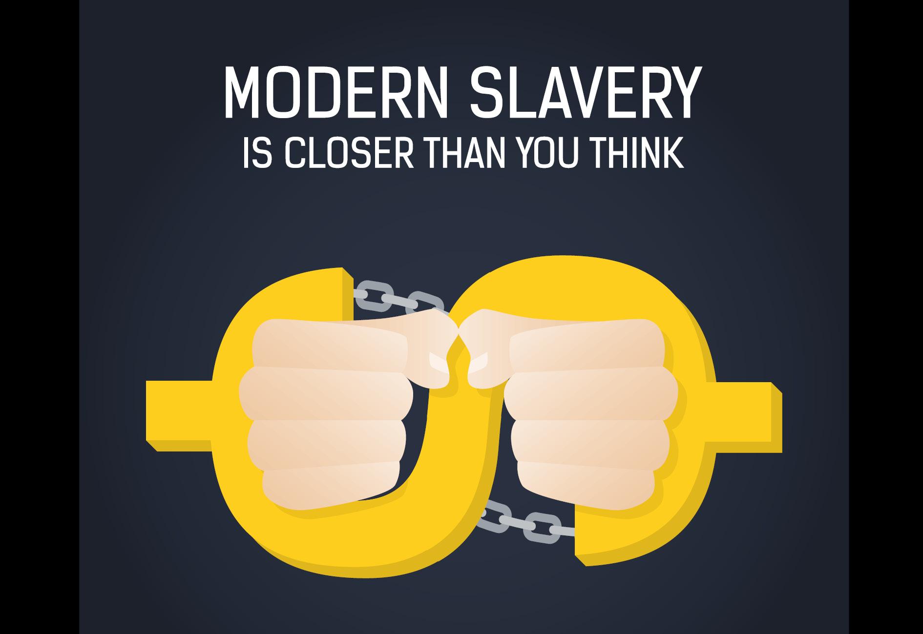 Modern slavery is closer than you think logo